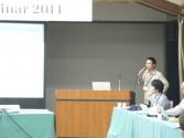 H23.10.14 4.Presentation of CNDC Ph.D. Degree Recipients 2