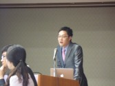 H23.10.15 1.Presentation from our Overseas Partner Institution,Yonsei University 3