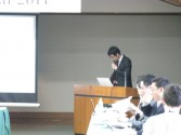 H23.10.15 1.Presentation from our Overseas Partner Institution,Yonsei University 5